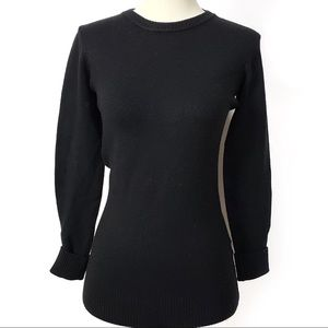 French Connection Black Sweater Size S